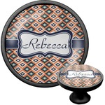 Tribal Cabinet Knob (Black) (Personalized)