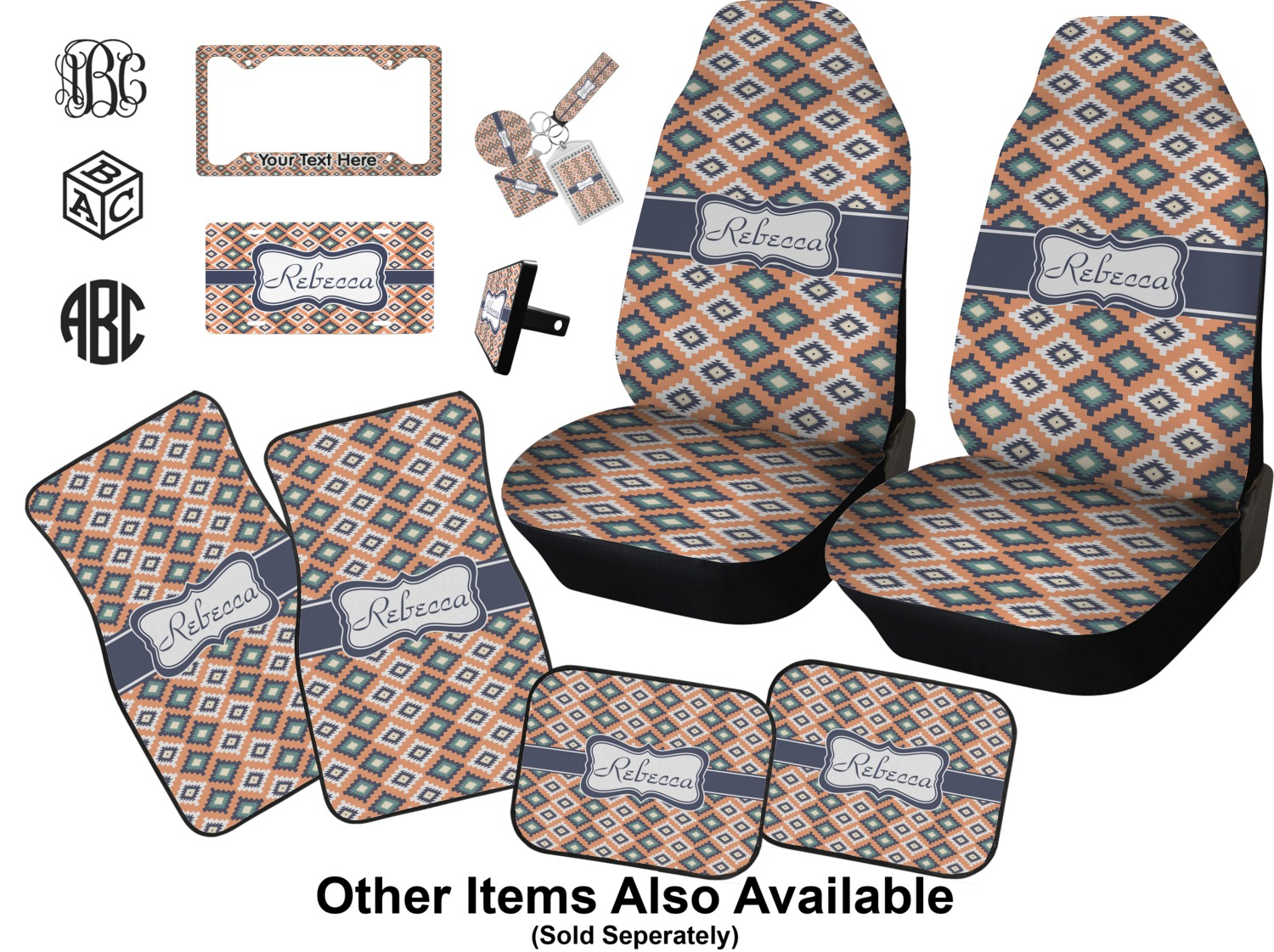 Tribal Baby Car Seat Covers