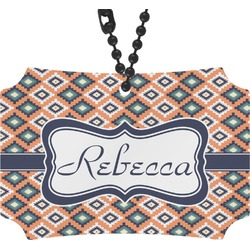 Tribal Rear View Mirror Ornament (Personalized)