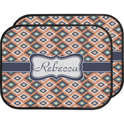 Tribal Car Floor Mats (Back Seat) (Personalized)
