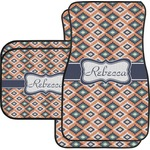 Tribal Car Floor Mats (Personalized)