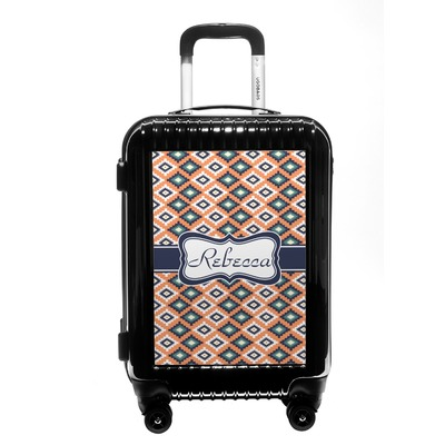 Tribal Carry On Hard Shell Suitcase (Personalized)