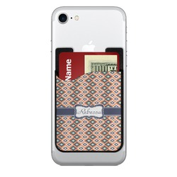Tribal 2-in-1 Cell Phone Credit Card Holder & Screen Cleaner (Personalized)