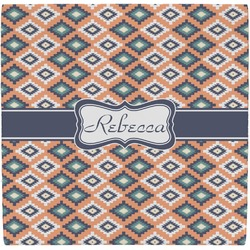 Tribal Ceramic Tile Hot Pad (Personalized)