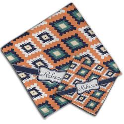Tribal Cloth Napkin w/ Name or Text