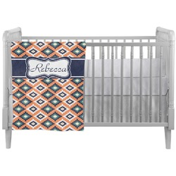 Tribal Crib Comforter / Quilt (Personalized)
