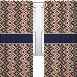 Tribal Curtains (2 Panels Per Set) (Personalized)
