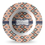 Tribal Plastic Bowl - Microwave Safe - Composite Polymer (Personalized)