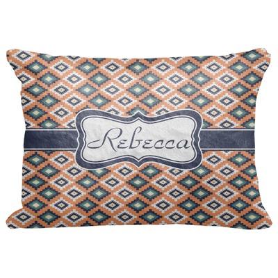 "Tribal Decorative Baby Pillowcase - 16""x12"" (Personalized)"