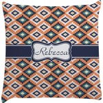 Tribal Decorative Pillow Case (Personalized)