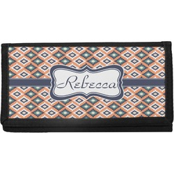 Tribal Canvas Checkbook Cover (Personalized)