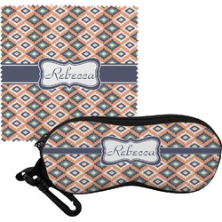Tribal Eyeglass Case & Cloth (Personalized)