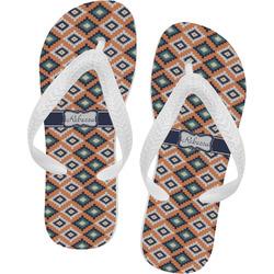 Tribal Flip Flops (Personalized)