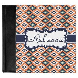 Tribal Genuine Leather Baby Memory Book (Personalized)