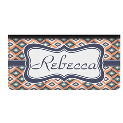 Tribal Genuine Leather Checkbook Cover (Personalized)