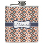 Tribal Genuine Leather Flask (Personalized)