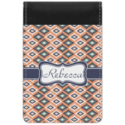 Tribal Genuine Leather Small Memo Pad (Personalized)