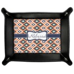Tribal Genuine Leather Valet Tray (Personalized)