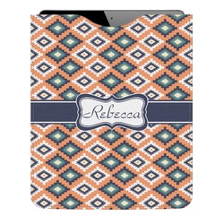 Tribal Genuine Leather iPad Sleeve (Personalized)