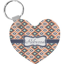 Tribal Heart Keychain (Personalized)