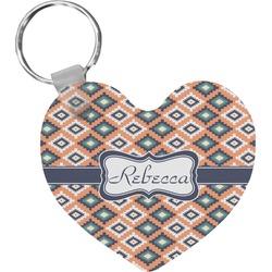 Tribal Heart Keychain (Personalized)