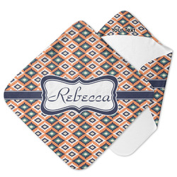 Tribal Hooded Baby Towel (Personalized)