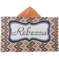 Tribal Kids Hooded Towel (Personalized)