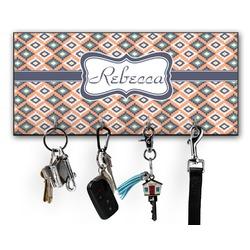Tribal Key Hanger w/ 4 Hooks (Personalized)