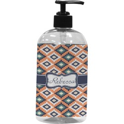 Tribal Plastic Soap / Lotion Dispenser (Personalized)