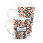 Tribal Latte Mug (Personalized)