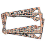Tribal License Plate Frame (Personalized)