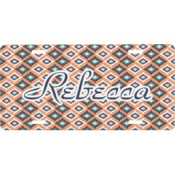 Tribal Front License Plate (Personalized)