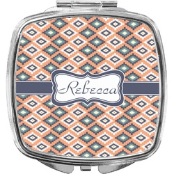Tribal Compact Makeup Mirror (Personalized)