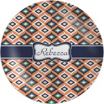 Tribal Melamine Plate (Personalized)