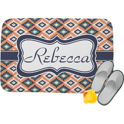 Tribal Memory Foam Bath Mat (Personalized)