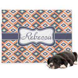 Tribal Minky Dog Blanket (Personalized)