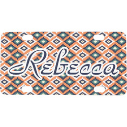 Tribal Mini / Bicycle License Plate (Personalized)