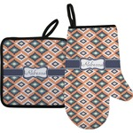 Tribal Oven Mitt & Pot Holder (Personalized)