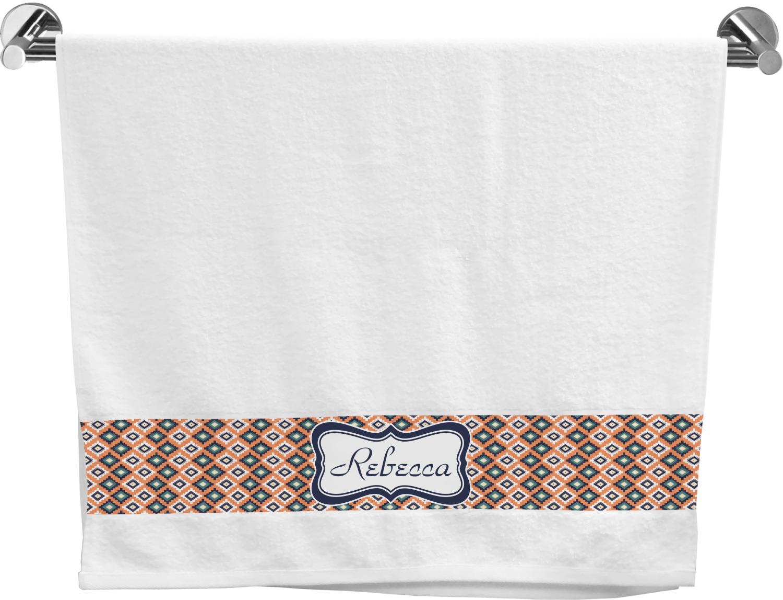 Tribal Bath Towel Personalized Youcustomizeit