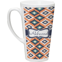 Tribal Latte Mug (Personalized)
