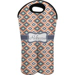 Tribal Wine Tote Bag (2 Bottles) (Personalized)