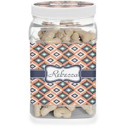 Tribal Pet Treat Jar (Personalized)