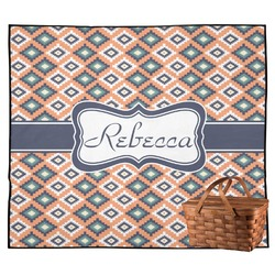 Tribal Outdoor Picnic Blanket (Personalized)