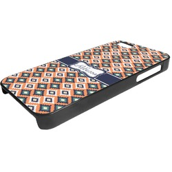 Tribal Plastic iPhone 5/5S Phone Case (Personalized)