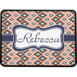"""Tribal Rectangular Trailer Hitch Cover - 1.25"""" (Personalized)"""