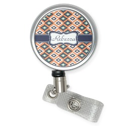 Tribal Retractable Badge Reel (Personalized)