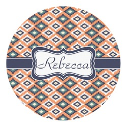 Tribal Round Decal - Custom Size (Personalized)
