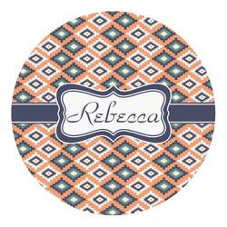 Tribal Round Decal - Medium (Personalized)