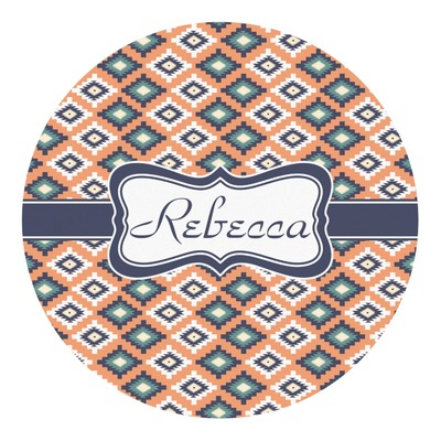 Tribal Round Decal (Personalized)