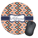 Tribal Round Mouse Pad (Personalized)